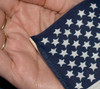"US 4X6"" STICK FLAG NO-FRAY NO TIP PER DOZEN"