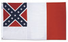 3RD  NATIONAL CONFEDERATE 3X5' FLAG
