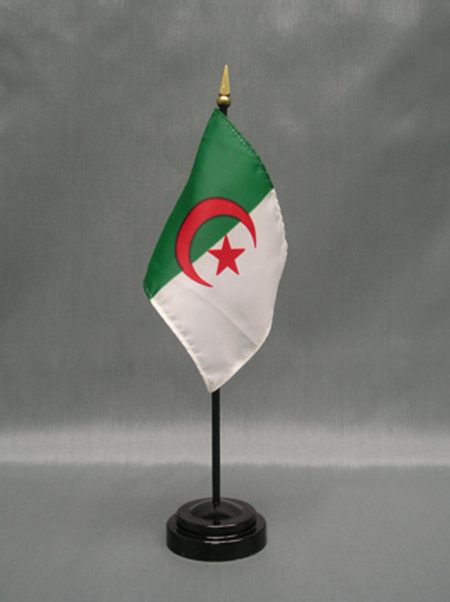 "ALGERIA 4X6"" TABLE TOP FLAG"