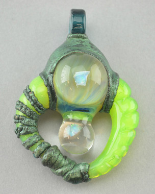 ALEX K & BIG PIZZLE - Baller Pendant with Opals - NOT FOR SALE