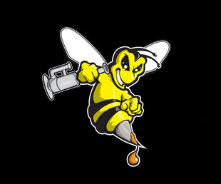 "BOROWEAR - The Dab Lab ""Honey Bee"" Only Tee"
