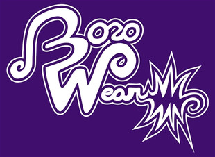 "BOROWEAR - ""Boro Wear"" Signature Logo Tee - Purple"