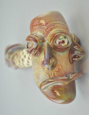 JORDY MINNICK - Multi-Face Dry Hammer Pipe - #1
