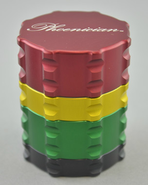 PHOENICIAN - Small 4-Piece Grinder - Rasta