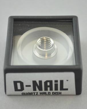 D-NAIL - Quartz HALO Dish for E-Nail Vaporizers