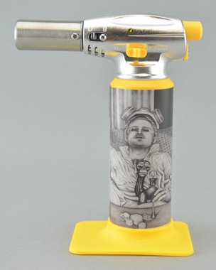 "ERRLY BIRD - ""Torch Art"" Butane Torch Lighter - Breaking Slabs"