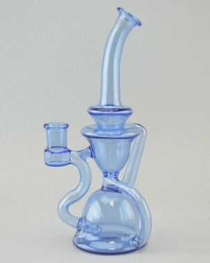 STAKLO - Recycler Rig w/ 14mm Female Joint - Blue Dream