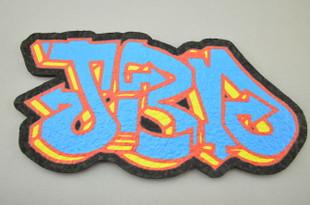 "JEROME BAKER DESIGNS - Mood Mat Bong Pad Coaster - ""JBD"" Logo"
