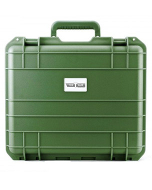 "THE T CASE - 12"" Waterproof Hard Protective Travel Case - Garden Green"