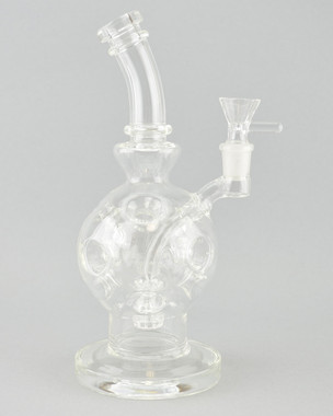BARE - Ball Egg Vapor Rig w/ 14mm Martini Slide - Clear