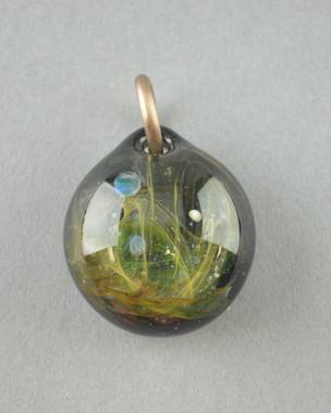 IAN GRABER - Outer-Space Theme Mini Pendant w/ Opal - #2