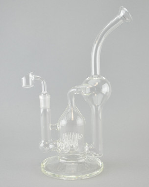 MR. FLOW - 8 Arm Sprinkler Recycler Rig w/ 14mm Female Joint & Quartz Banger