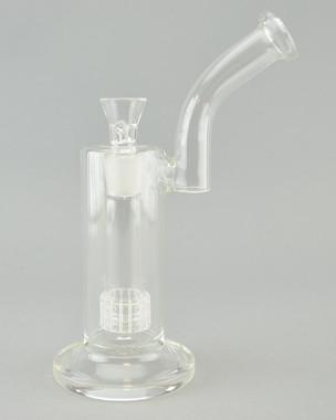 BARE - Water Pipe Bubbler w/ Matrix Perc & 18mm Martini Slide