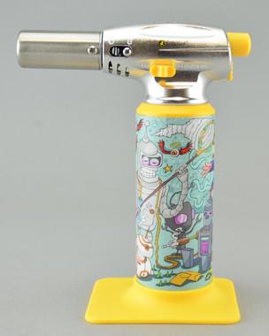 """ERRLY BIRD - """"Torch Art"""" Butane Torch Lighter - Robot Oil Party"""