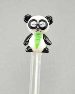 "RODZ - ""Panda Bear"" Glass Dabber"