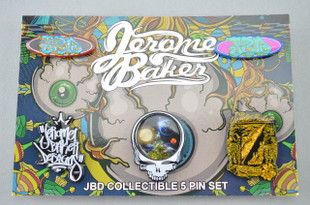 JEROME BAKER DESIGNS - Collectible Heady Hat Pin Set (5 Pack)