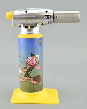 "ERRLY BIRD - ""Torch Art"" Butane Torch Lighter - Ren and Stimpy"