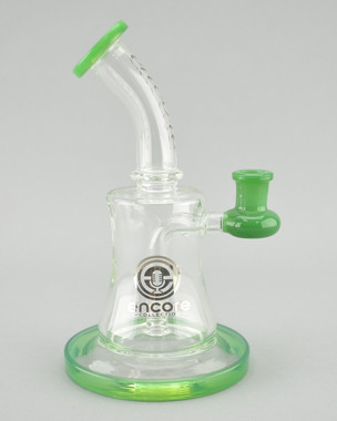 ENCORE - Banger Hanger Rig w/ 14mm Female Joint & Quartz Nail - Green