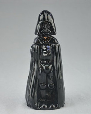 "TAMMY BALLER - ""Darth Vader from Star Wars"" Vapor Rig w/ 14mm Fixed 2-hole Diffy & Dome"