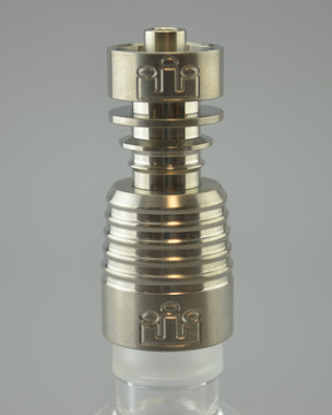 SILIKA - 2-Piece Titanium Domeless Nail for 18mm Male Joints
