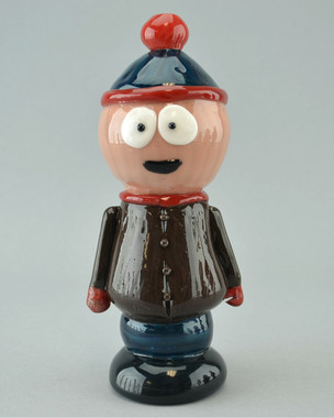 "TAMMY BALLER - ""Stan from South Park"" Vapor Rig w/ 14mm Fixed 2-hole Diffy & Dome"