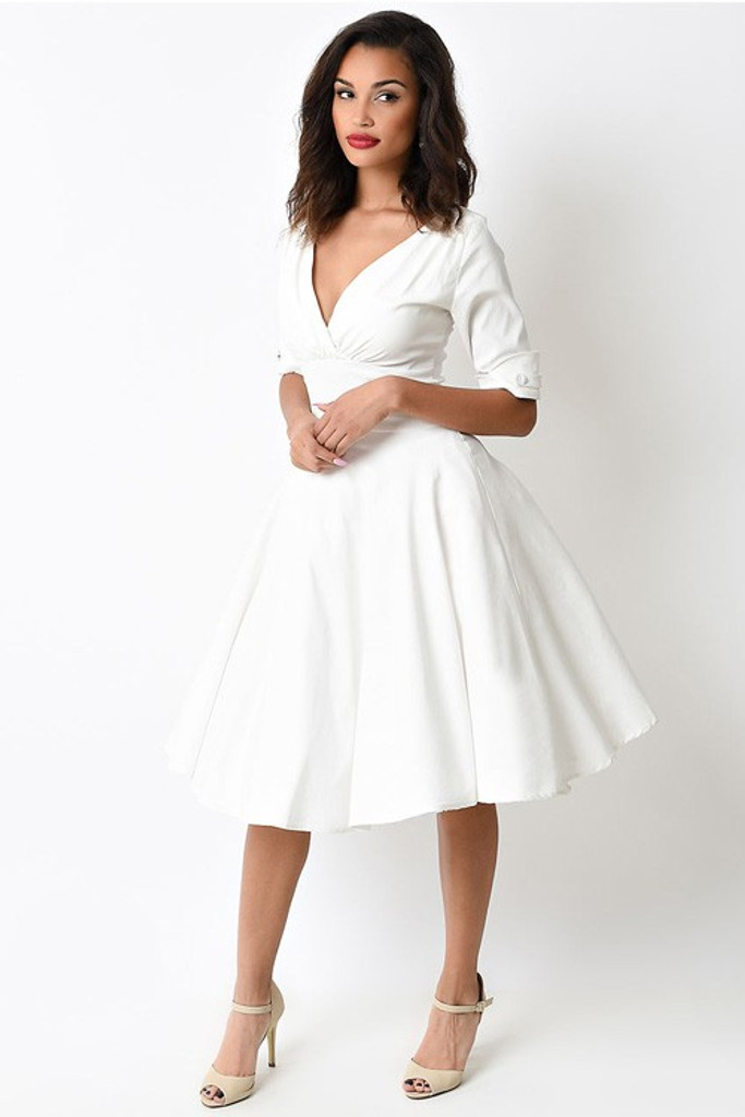 UNIQUE SWING DRESS