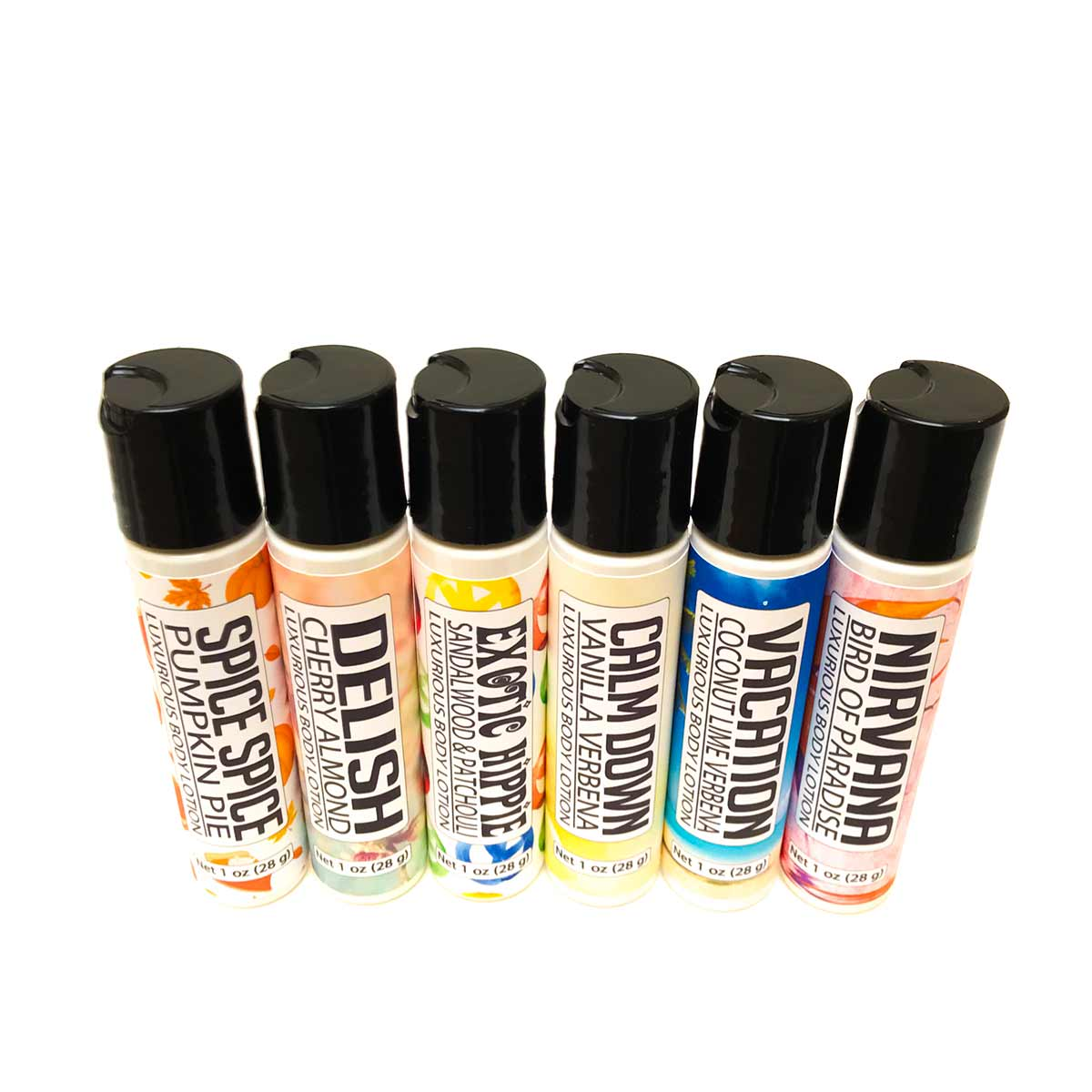 Variety lotion packs 2, 4 or 6 pack choices