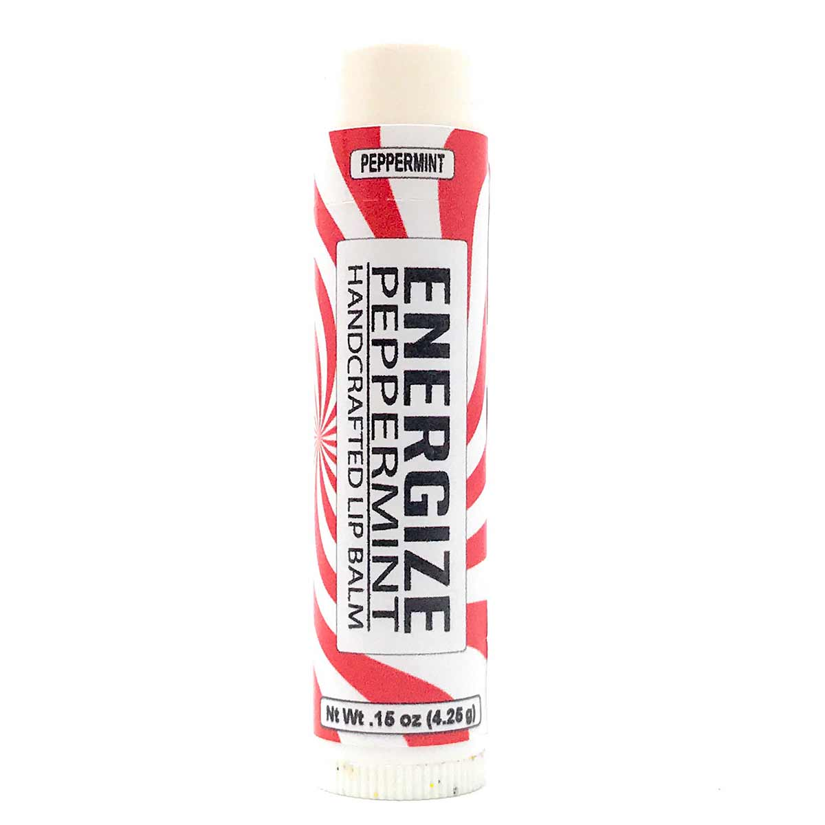 Lip Balm - Peppermint flavor in .15 oz tube