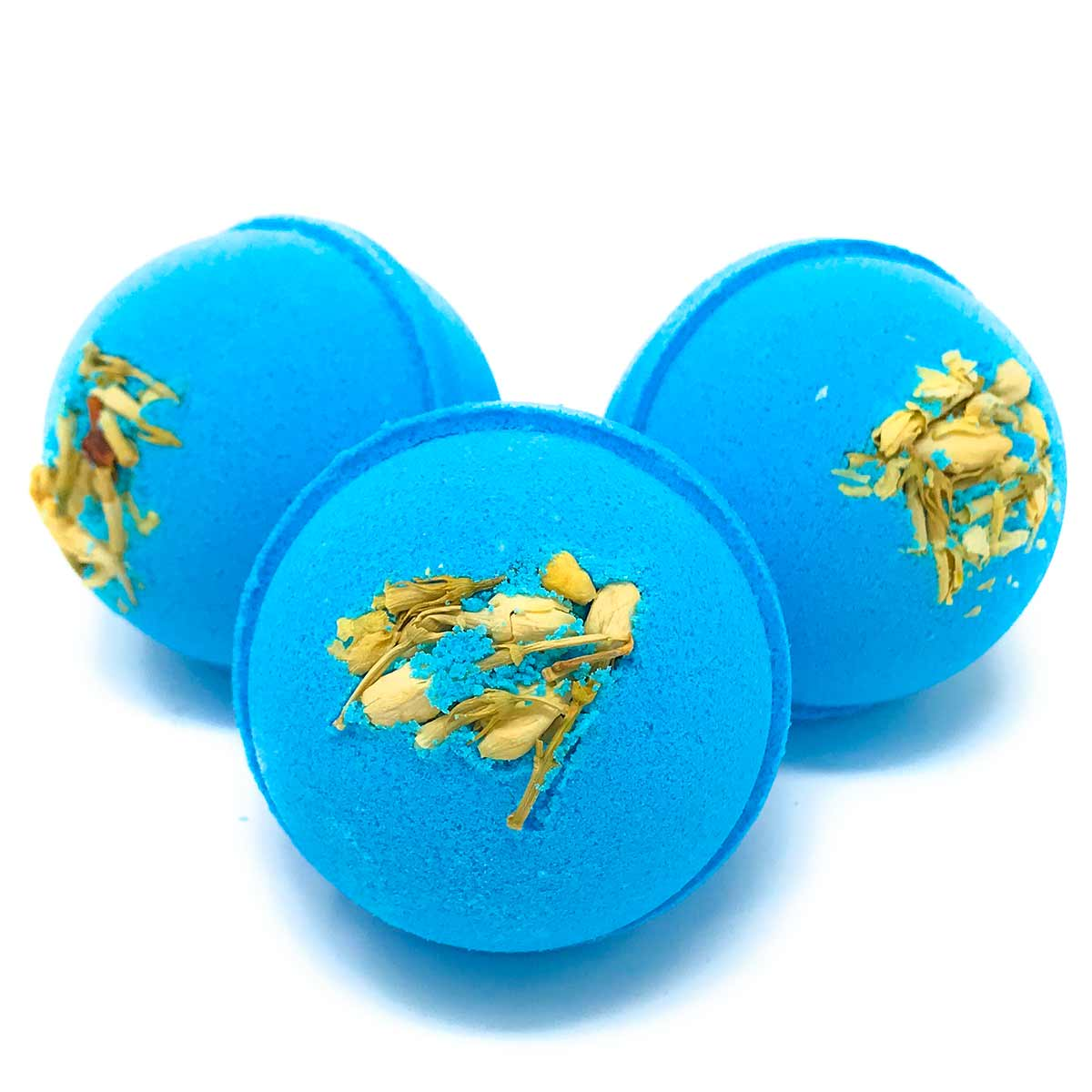 Bath Bombs - Tuberose and Jasmine 3 oz round