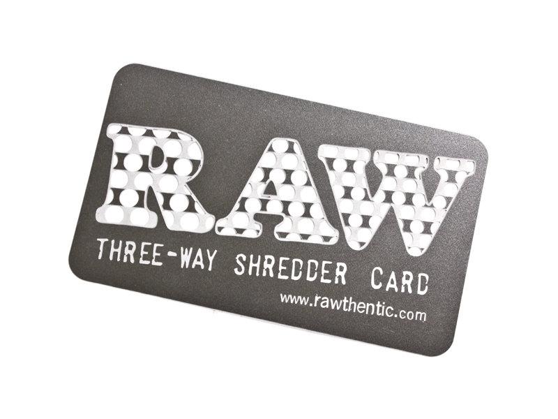 RAW Shredder Card w/Sleeve