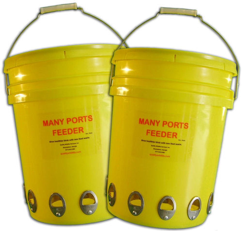Many Ports Feeder- Twin Pack