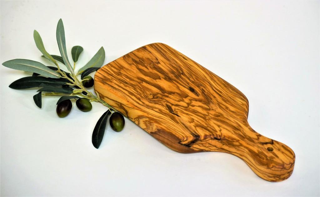 Olive Wood Small Bread Board