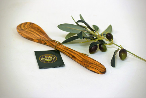 Olive Wood Solid Spoon