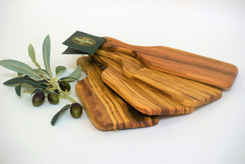 Olive Wood Bread Board Set of 4