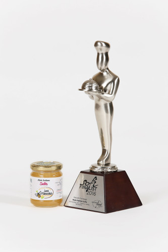 SOFI Silver Award Winner: Honeysuckle Blossom Honey