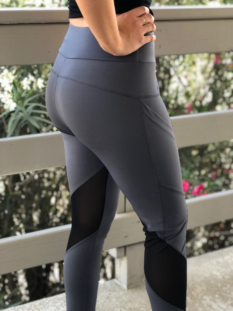 Active Wear- Grey and Black