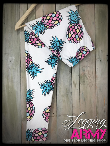 Plus Size Sublimation- Pineapple Party