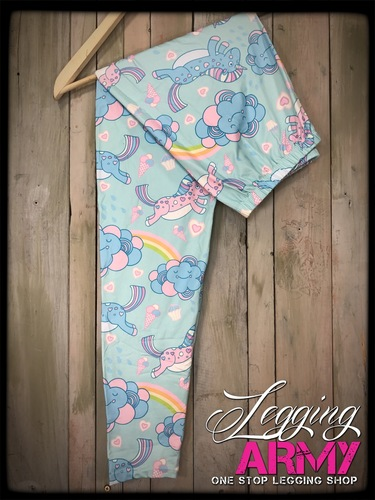 Plus Size Sublimation- Unicorn Dreams