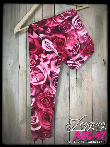 Plus Size Sublimation- Bed of Roses