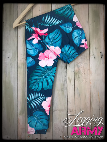 Plus Size Sublimation- My Blue Hawaii