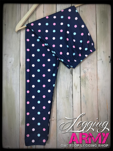 Plus Size Sublimation- Pretty in Polka Dots