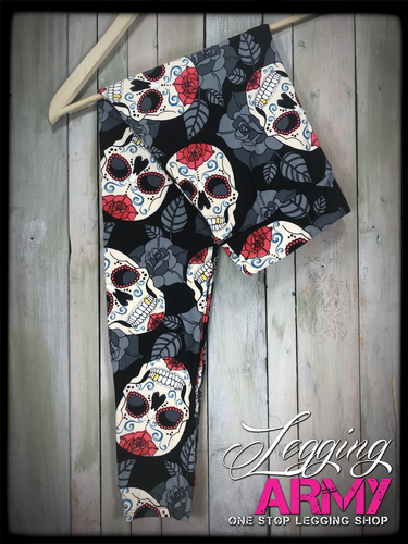 Yoga Waist Band- (Plus Size): La Calavera