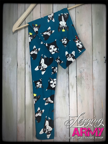 Plus Size- Dawg Pawty- Teal