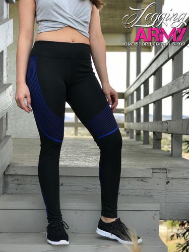 Active Wear- Vivacious- Blue
