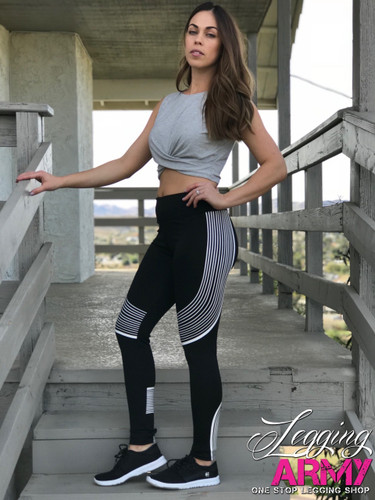 Active Wear- Vivacious- White