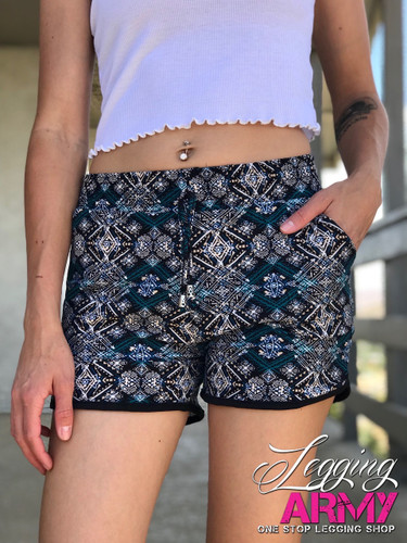 Shorts- Reel in The Teal