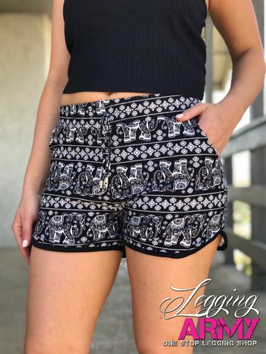Shorts- Trunk Tracks- Black