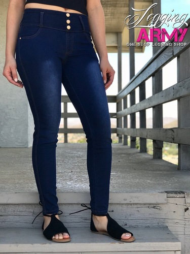 Premium Jeggings- Onyx