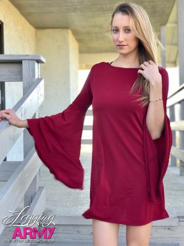 PS Dress- Cabernet