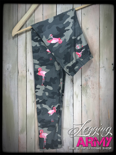Plus Size- Armed and Flocked (GREY)